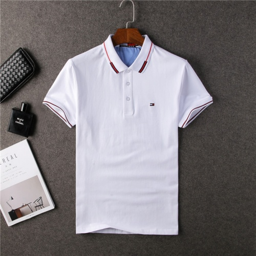 Tommy Hilfiger TH T-Shirts Short Sleeved Polo For Men #755234