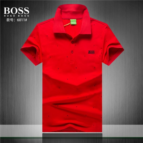 Boss T-Shirts Short Sleeved Polo For Men #755279