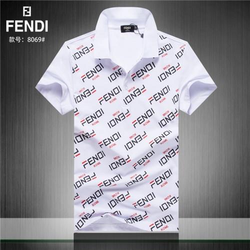 Fendi T-Shirts Short Sleeved Polo For Men #755296