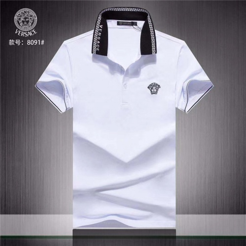 Versace T-Shirts Short Sleeved Polo For Men #755299