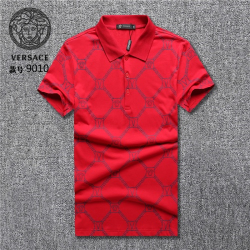 Versace T-Shirts Short Sleeved Polo For Men #755303