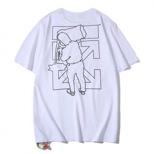 Off-White T-Shirts Short Sleeved O-Neck For Men #755305