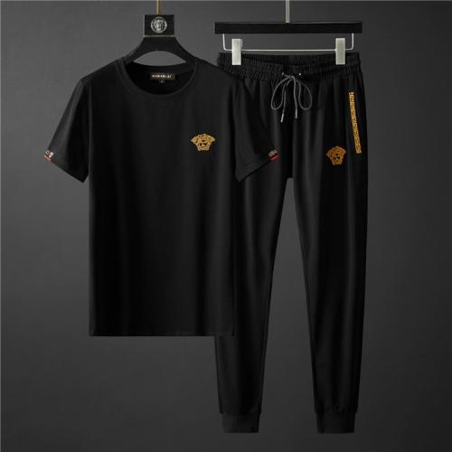 Versace Tracksuits Short Sleeved O-Neck For Men #755343