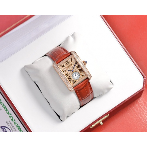 Cartier AAA Quality Watches In 30*39mm For Women #755456
