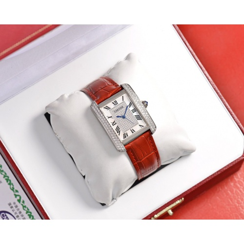 Cartier AAA Quality Watches In 30*39mm For Women #755457