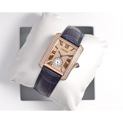 Cartier AAA Quality Watches In 30*39mm For Women #755460