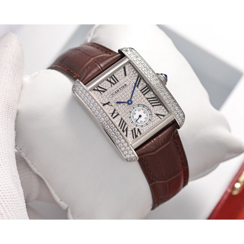 Cartier AAA Quality Watches In 30*39mm For Women #755463