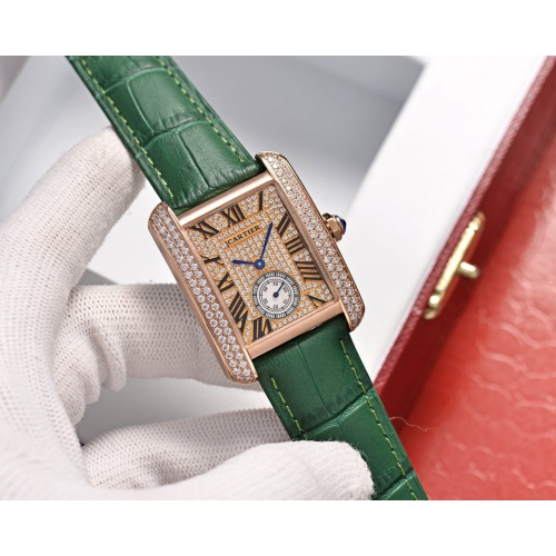 Cartier AAA Quality Watches In 30*39mm For Women #755465