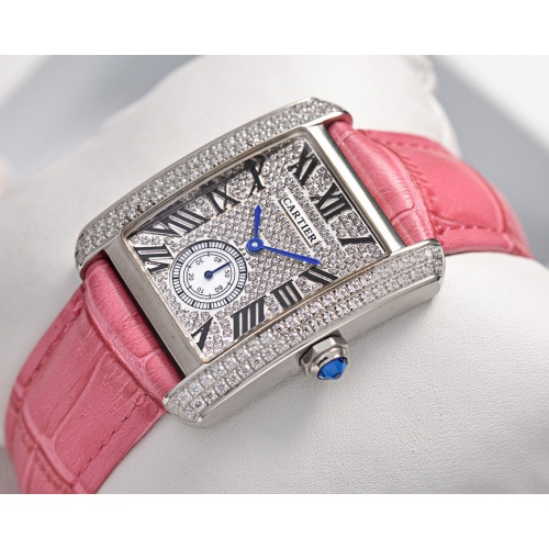 Cartier AAA Quality Watches In 30*39mm For Women #755466