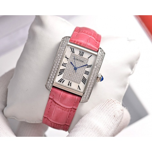 Cartier AAA Quality Watches In 30*39mm For Women #755467