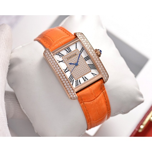 Cartier AAA Quality Watches In 30*39mm For Women #755468