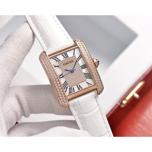 Cartier AAA Quality Watches In 30*39mm For Women #755469