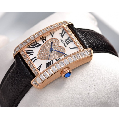 Cartier AAA Quality Watches In 30*39mm For Women #755471