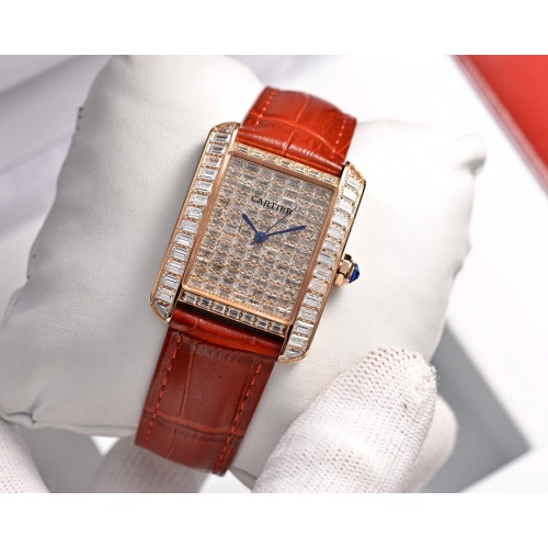 Cartier AAA Quality Watches In 30*39mm For Women #755472