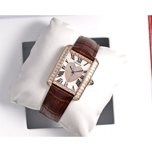 Cartier AAA Quality Watches In 30*39mm For Women #755473