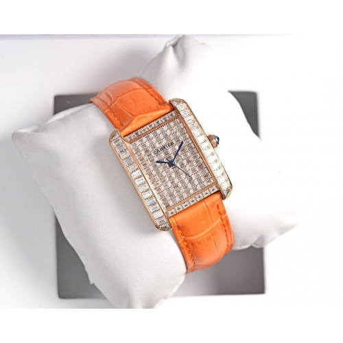 Cartier AAA Quality Watches In 30*39mm For Women #755474
