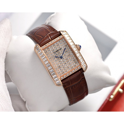 Cartier AAA Quality Watches In 30*39mm For Women #755476