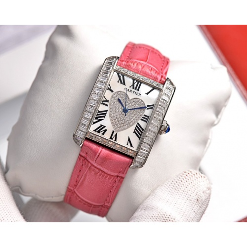Cartier AAA Quality Watches In 30*39mm For Women #755479