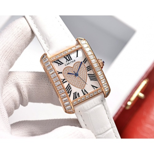 Cartier AAA Quality Watches In 30*39mm For Women #755481