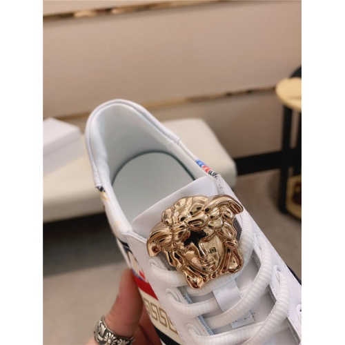 Replica Versace Casual Shoes For Men #755501 $78.57 USD for Wholesale