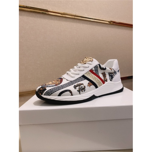 Versace Casual Shoes For Men #755502 $78.57, Wholesale Replica Versace Fashion Shoes
