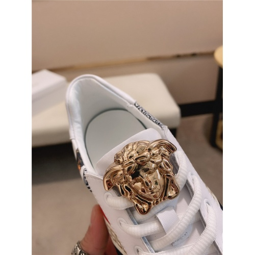 Replica Versace Casual Shoes For Men #755502 $78.57 USD for Wholesale