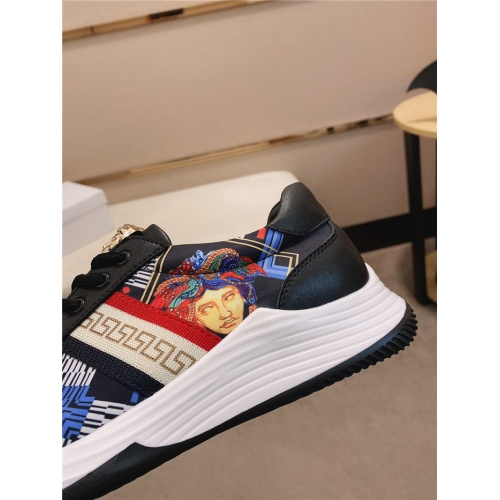 Replica Versace Casual Shoes For Men #755503 $78.57 USD for Wholesale
