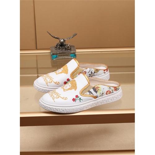Versace Casual Shoes For Men #755518 $67.90, Wholesale Replica Versace Fashion Shoes