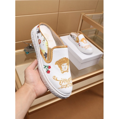 Replica Versace Casual Shoes For Men #755518 $67.90 USD for Wholesale