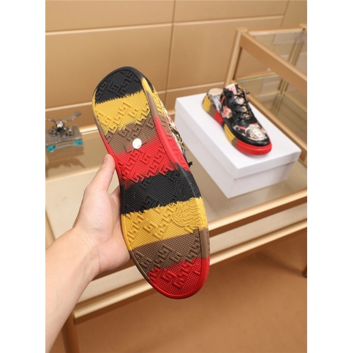 Replica Versace Casual Shoes For Men #755519 $71.78 USD for Wholesale