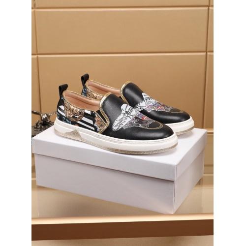 Replica Versace Casual Shoes For Men #755520 $75.66 USD for Wholesale