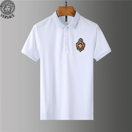 Versace T-Shirts Short Sleeved Polo For Men #755565