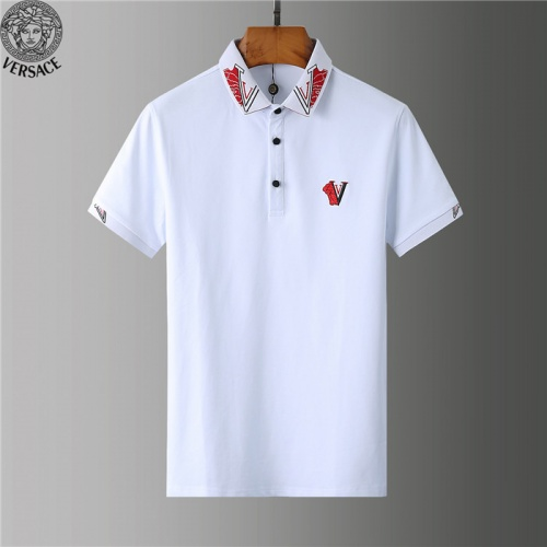 Versace T-Shirts Short Sleeved Polo For Men #755567