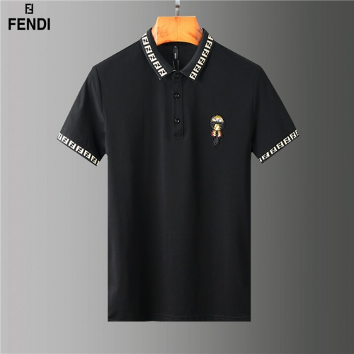 Fendi T-Shirts Short Sleeved Polo For Men #755586