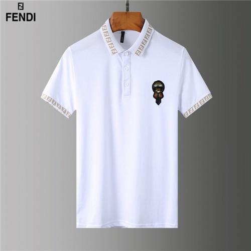 Fendi T-Shirts Short Sleeved Polo For Men #755587