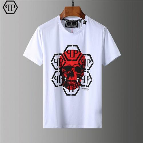 Philipp Plein PP T-Shirts Short Sleeved O-Neck For Men #755594