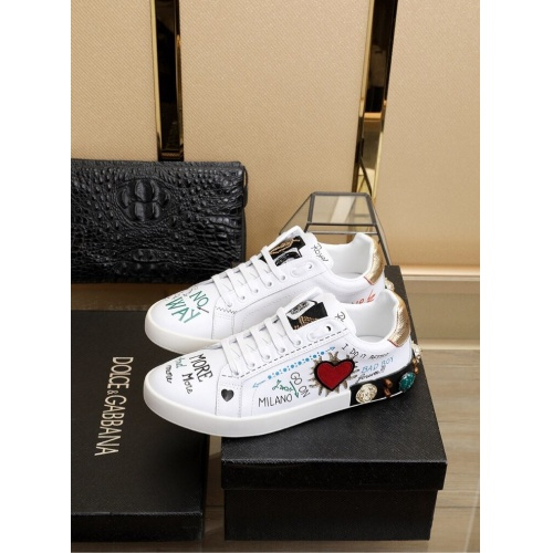 Dolce & Gabbana D&G Casual Shoes For Men #755778