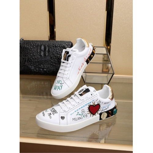 Replica Dolce & Gabbana D&G Casual Shoes For Men #755778 $94.09 USD for Wholesale
