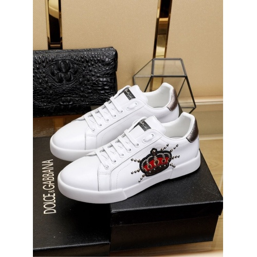 Dolce & Gabbana D&G Casual Shoes For Men #755788