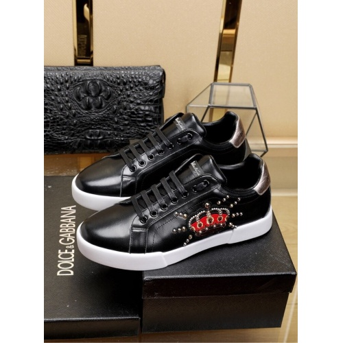 Dolce & Gabbana D&G Casual Shoes For Men #755789