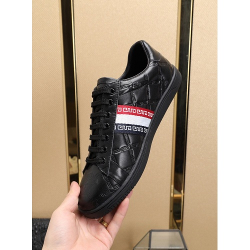Replica Versace Casual Shoes For Men #755795 $83.42 USD for Wholesale
