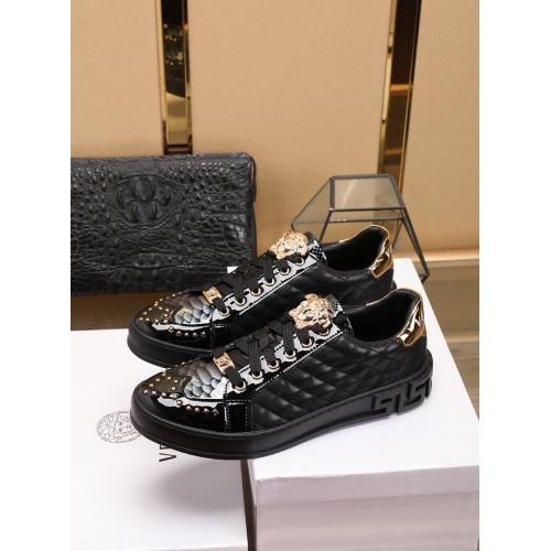Versace Casual Shoes For Men #755811 $80.51, Wholesale Replica Versace Fashion Shoes