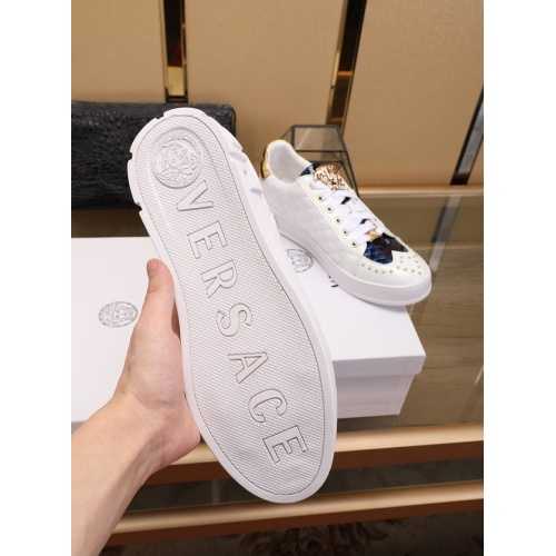 Replica Versace Casual Shoes For Men #755812 $80.51 USD for Wholesale