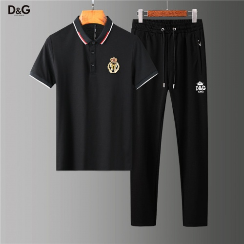 Dolce & Gabbana D&G Tracksuits Short Sleeved Polo For Men #755823
