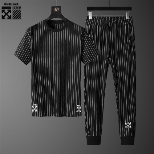 Off-White Tracksuits Short Sleeved O-Neck For Men #755829