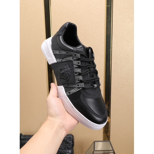 Replica Versace Casual Shoes For Men #755859 $83.42 USD for Wholesale