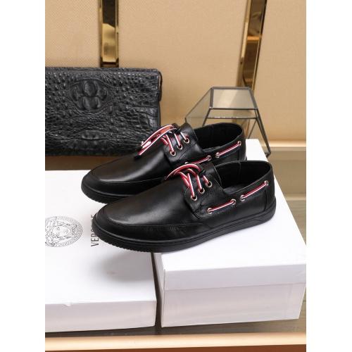 Versace Casual Shoes For Men #755878 $83.42, Wholesale Replica Versace Fashion Shoes