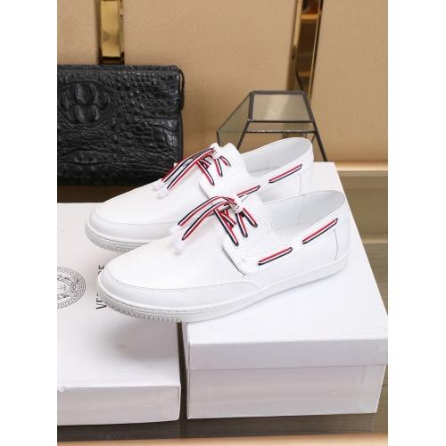Versace Casual Shoes For Men #755879 $83.42, Wholesale Replica Versace Fashion Shoes
