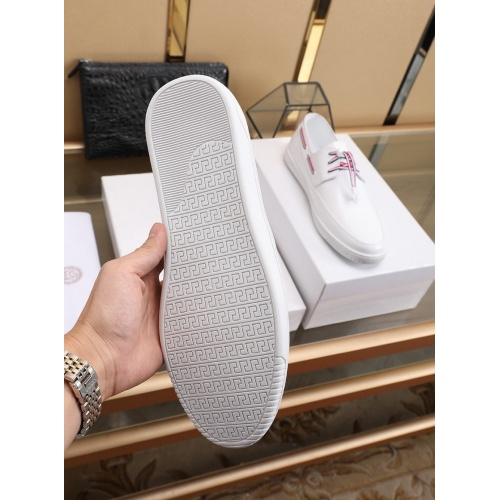Replica Versace Casual Shoes For Men #755879 $83.42 USD for Wholesale