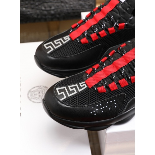 Replica Versace Casual Shoes For Men #755889 $80.51 USD for Wholesale